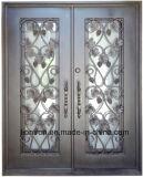 [هند-فورج] حديد مدخل [فرونت دوور] مع عنب وأوراق
