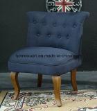 フランス型の麻布のトラの居間のソファーの椅子のアメリカの国のホテルクラブ小さいソファー(M-X3173)
