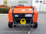La pressa per balle rotonda Yk0850 del fieno dell'azienda agricola ha abbinato con il mini trattore