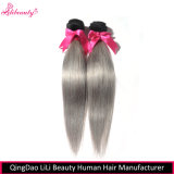 8Um grau de cabelo humano Remy Brasileiro pacotes de cabelo liso