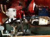 pompa mescolantesi concreta idraulica trainabile del motore diesel 56kw con capienza di consegna 40m3/Hour