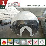 шатры геодезический купола сада диаметра 14m стальные/парник геодезический купола металла