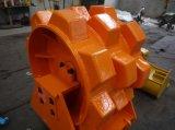 販売のためのISOおよびSGSの掘削機のコンパクターの車輪