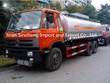 Caminhão de tanque do petróleo do petroleiro 20000L do combustível de Dongfeng 210HP 6X4