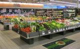 Estante de la fruta y verdura del estante de visualización de la fruta del supermercado