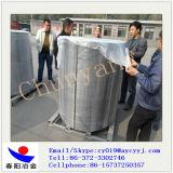 Fio de cálcio silício bobina vertical 2MT/bobina na palete de metal de aço /Fio Casi olho para a máquina