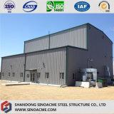 タイの産業鉄骨構造の構築のプレハブの工場倉庫