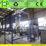 Tipo película del acero inoxidable del LDPE que recicla la máquina