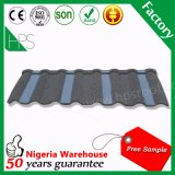 Плитка толя каменной Coated плитки металла толя стальная для Нигерии