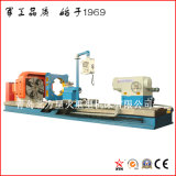 Сверхмощный Lathe CNC на подвергать 8000 mm длинний вал механической обработке (CG61160)