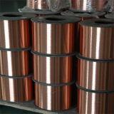 Fil unique de cuivre unique en acier plaqué de cuivre du fil CCS