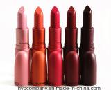Coleção de batom mate de edição limitada 5 cores Maçãs de moda Maquiagem de cor escura Creme de lábio Batom impermeável natural