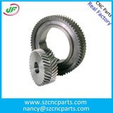 High Precision CNC Machining Center Double Crossed Helium Spur Gear
