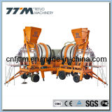 80tph Mobile Hot Mix Asphalt Batching Mixing Plant