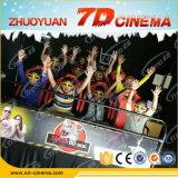 Strumentazione eccitante del cinematografo 7D, teatro 7D con il sistema del cinematografo della fucilazione 7D della pistola