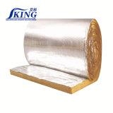 Couverture de laine de verre isolant avec du papier aluminium