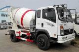 Consegna concreta M3 Turck del camion 4 del camion del miscelatore dell'agitatore delle rotelle di Sinotruk 6