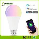Intelligent 14W E26 A21 Iluminación cambia de color RGBW control de WiFi hogar inteligente trabajo de la luz de lámpara LED con la Tuya APP/Amazon Alexa/Google Home
