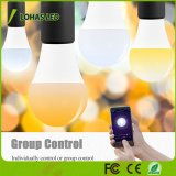Lighting Manufacturer 9W A19 Gu24 WiFi Control Smart LED Bulb Light clouded