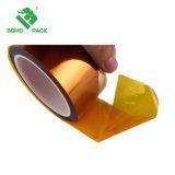 0.06mmの厚さこはく色カラーシリコーンの付着力のPolyimideテープ