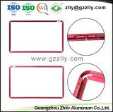 Fournisseur en aluminium profilé en aluminium d'armature TV avec accessoires