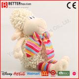 아이 아이들을%s 귀여운 포옹 박제 동물 견면 벨벳 장난감 연약한 어린 양
