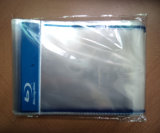 Claro Transparente Autoadhesivo OPP bolsas de embalaje de plástico con Logo de Blue Ray