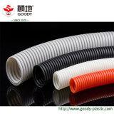 Bramidos acanalados del aislante de tubo/del manguito del conducto eléctrico acanalado flexible del PVC