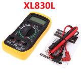 XL830L цифровой мультиметр 1999 дисплей ЖК-дисплей с голубой подсветкой AC/DC/Ом амперметр вольтметр Ом портативный дозатора