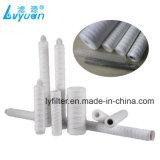 Polipropileno/Microglassfiber/fábrica de los cartuchos de filtro de agua de la herida del hilo de algodón