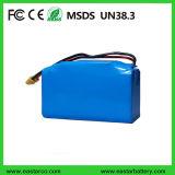 paquete de la batería del Li-ion de 10s2p 4.4ah 158wh Hoverboard, 18650 batería del ion de Li del litio de 36V 4400mAh