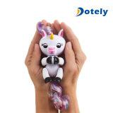 지능적인 다채로운 핑거 지능적인 감응작용 전자 장난감이 애완 동물에 의하여 농담을 한다