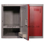 Un armadio di plastica Le32-3 H 1980W320d480 dei quattro della fila ABS dell'armadio