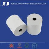 Papier de Rolls Guanglun de papier thermosensible de caisse comptable de bonne qualité