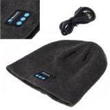 Garder personnalisé de haute qualité à bas prix hiver chaud de la musique Bluetooth Knittied Beanies