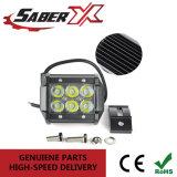 Водонепроницаемый прямоугольник 4 дюйма 18W Spot светодиодный индикатор бар для подборщика Jeep грузовые автомобили Внедорожники
