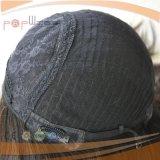 Natrural 색깔 실크 최고 유태인 정결한 가발 (PPG-l-01156)