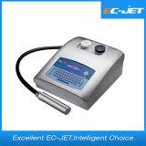 Impresión continua del código del tratamiento por lotes de la impresora de inyección de tinta de la impresora solvente (EC-JET300)