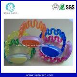 Wristband esperto do silicone impermeável feito sob encomenda ajustável RFID