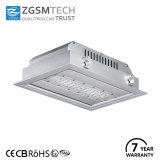 Dosel LED 120W de luz de la estación de Gas aprobado CE