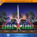 Большой подгонянный высокопоставленный напольный фонтан воды нот