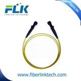 Cuerda de corrección óptica de fibra de la asamblea de FTTX MTRJ SM