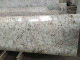 Galaxy белого гранита полированной плитки&слоев REST&место на кухонном столе