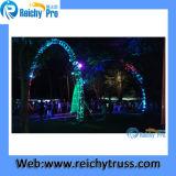 T6082-T6 연주회, 전람, 당 LED 스크린 Truss를 위한 알루미늄 점화 지붕 단계 Truss