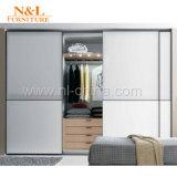 جديدة حديث أسلوب غرفة نوم أثاث لازم خشبيّة يطوي بناء خزانة ثوب