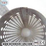 Filtro perforado redondo del tubo del metal del acero de carbón del orificio