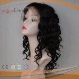 Parrucca ebrea superiore di seta del Virgin dei capelli pieni di Remy (PPG-l-01804)