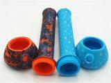 De draagbare Waterpijpen van de Installatie van de SCHAR van de Breker van het Silicone met Afgedrukte Kleuren