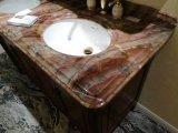 Луис СЕРЫЙ АГАТ красным мрамором слоя для кухни и ванной комнатой/стены и пол