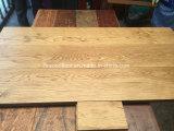 настил твердой древесины дуба планки золотистой пшеницы 150mm широкий
